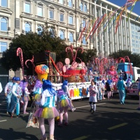Carnival parade in Rijeka