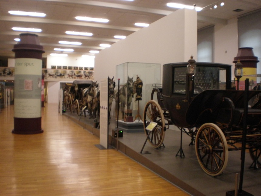 Imperial carriage Museum in Vienna