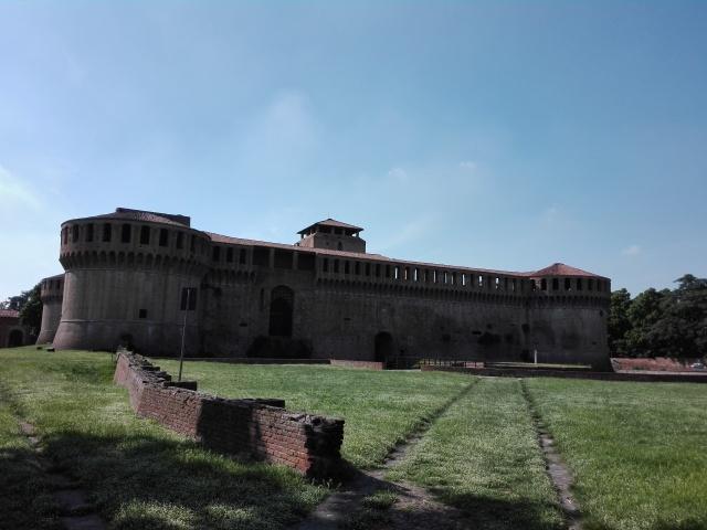 Imola's castle Rocca Sforzesca