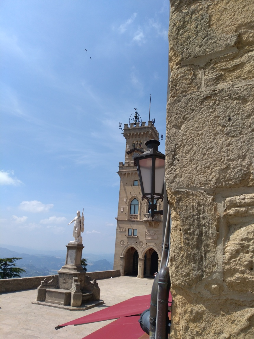 Liberty Square and the Public Palace in San Marino