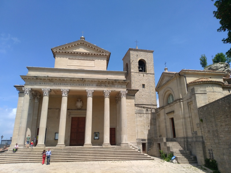 What to do in San Marino-Basilica di San Marino