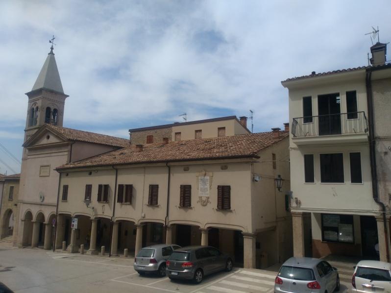the main square, Borgo Maggiore, San Marino