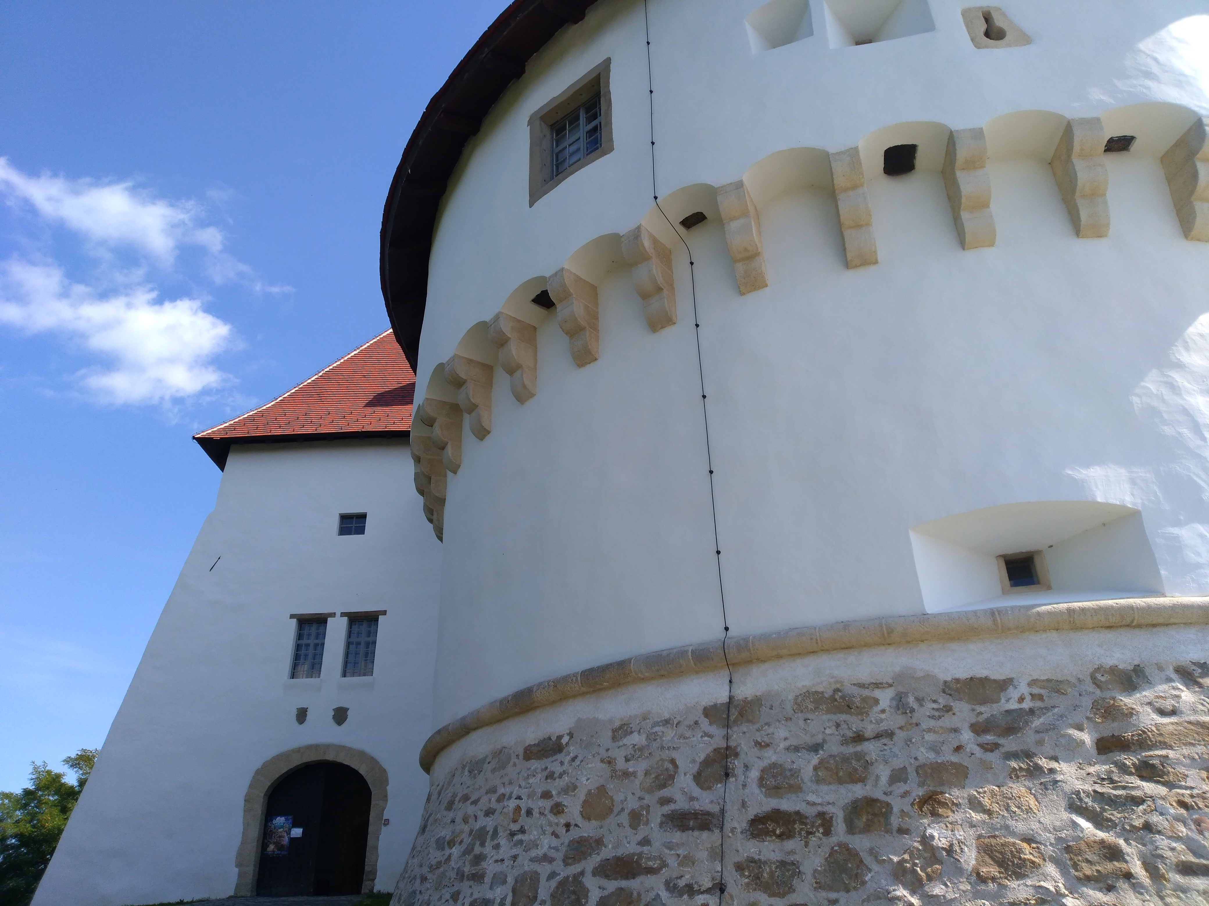 entrance of Veliki Tabor Castle