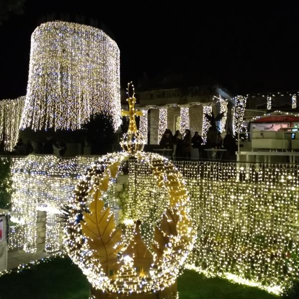 Trsat Castle at Christmas
