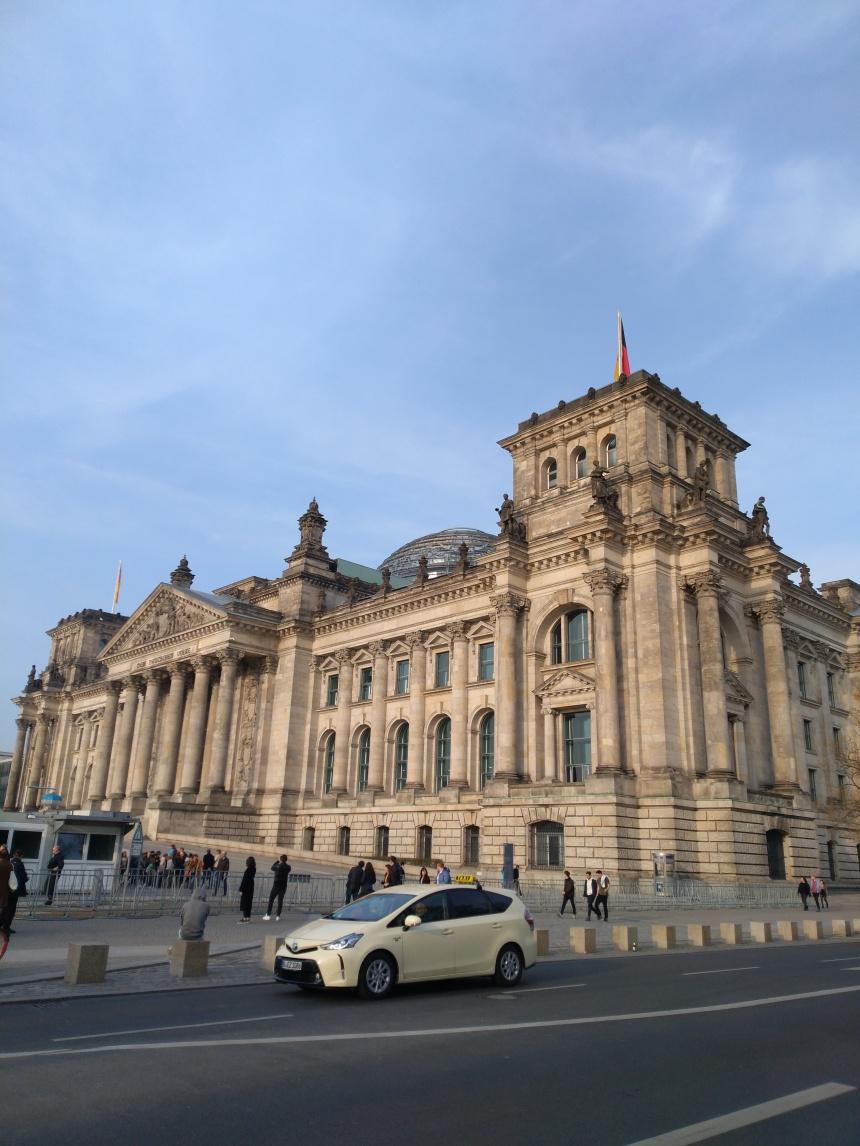 Reichstag building (parliament), Berlin