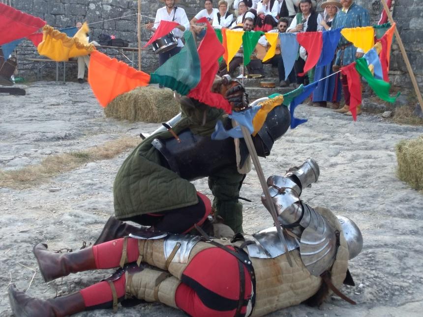 medieval festival at Dvigrad ruins, Istria, Croatia