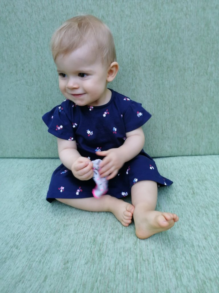 Baby update: L. is 1 year old!