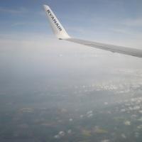 A few memorable airplane views